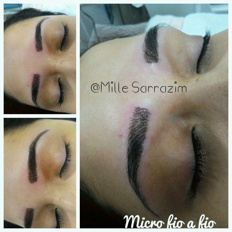 Micropigmentação fio a fio outros depilador(a) designer de sobrancelhas esteticista massoterapeuta micropigmentador(a)