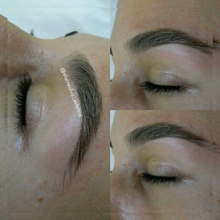 Design de sobrancelhas feito com pinça e finalizada com linha egípcia.Sem uso de pigmentos 👆 estética designer de sobrancelhas