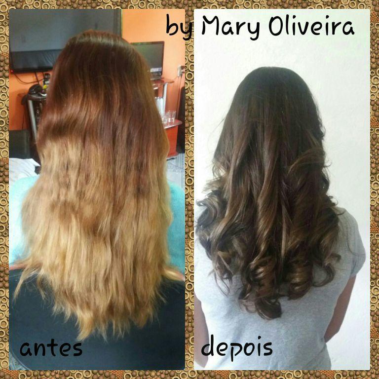 Candou da cor?? Vamos mudar... cabelo cabeleireiro(a)