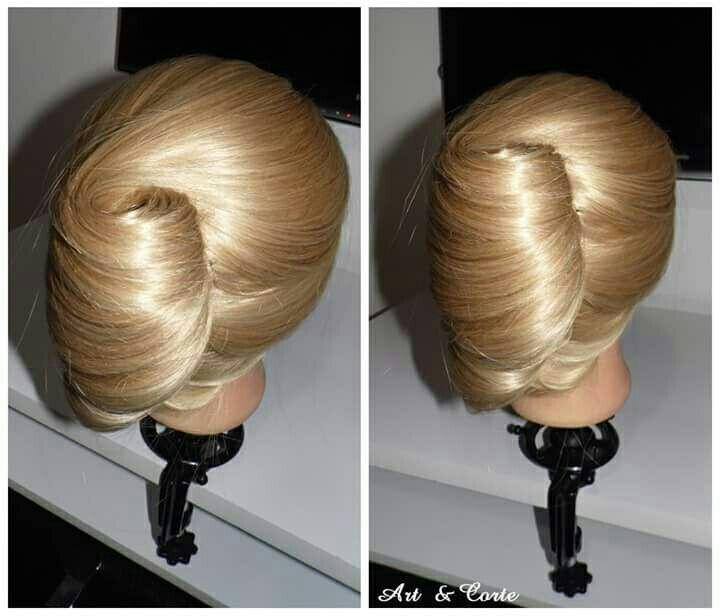 Coque banana cabelo estudante (cabeleireiro)