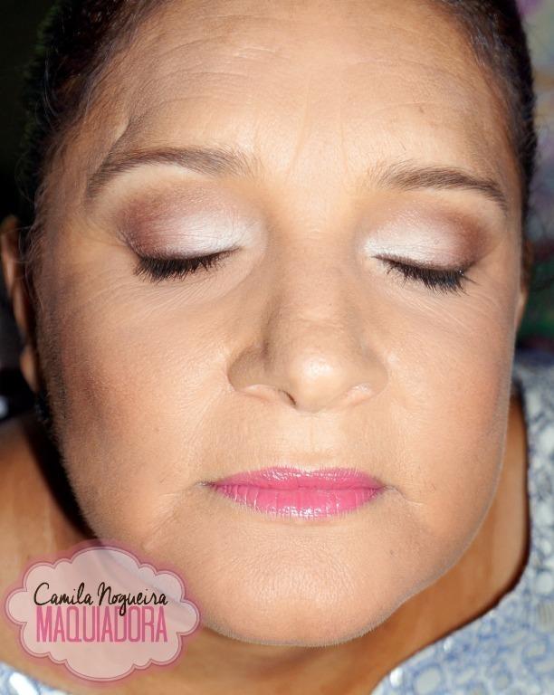 pele madura, rosa claro, dia a dia, esfumado, casamento, festa, balada,  maquiagem  maquiador(a)