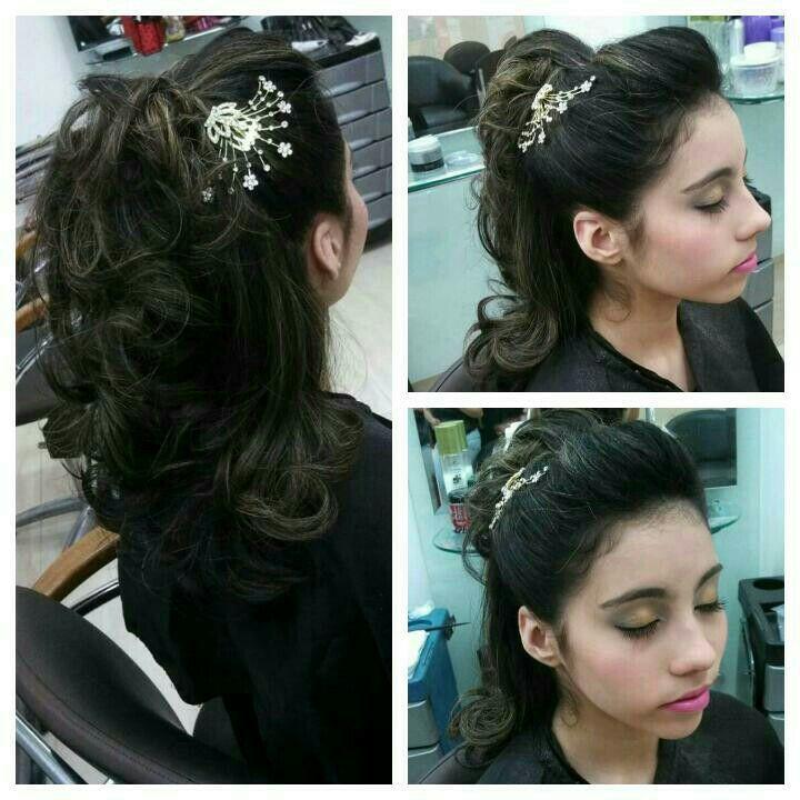 penteado cabelo  maquiador(a) cabeleireiro(a) esteticista cabeleireiro(a)