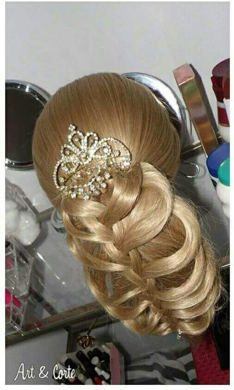 Trança costela de Adão cabelo estudante (cabeleireiro)