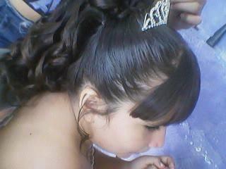 Trabalhado no baby liss . Formatura ABC. cabeleireiro(a)