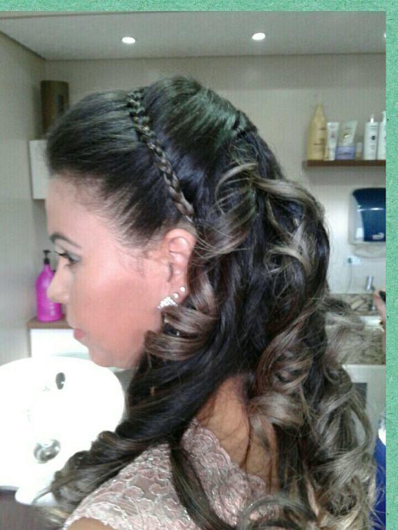 Penteado madrinha e maquiagem cabelo cabeleireiro(a) depilador(a) maquiador(a) revendedor(a) manicure e pedicure