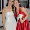 Noiva Carolina e sua irmã Carla
