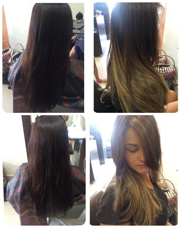 Luzes para morenas, preservando a raiz natural! cabelo cabeleireiro(a) maquiador(a)
