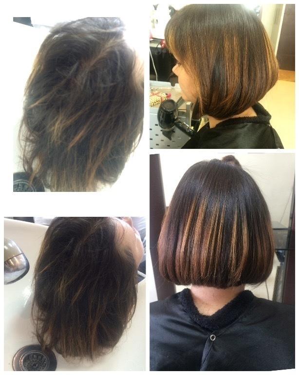 Chanel com bico frontal. cabelo cabeleireiro(a) maquiador(a)