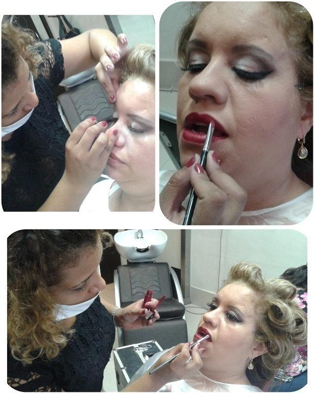 Make festa maquiagem cabeleireiro(a) maquiador(a)