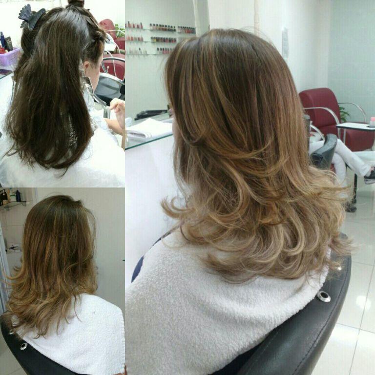Ombrehair cabelo cabeleireiro(a)