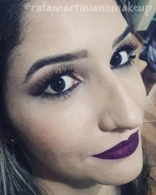 Maquiagem olho nude e boca tudo! #makecasamento #makefesta maquiador(a)