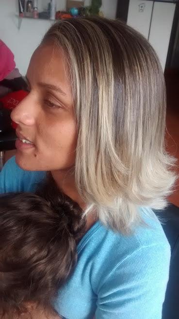 mechas com ombre hair cabeleireiro(a)