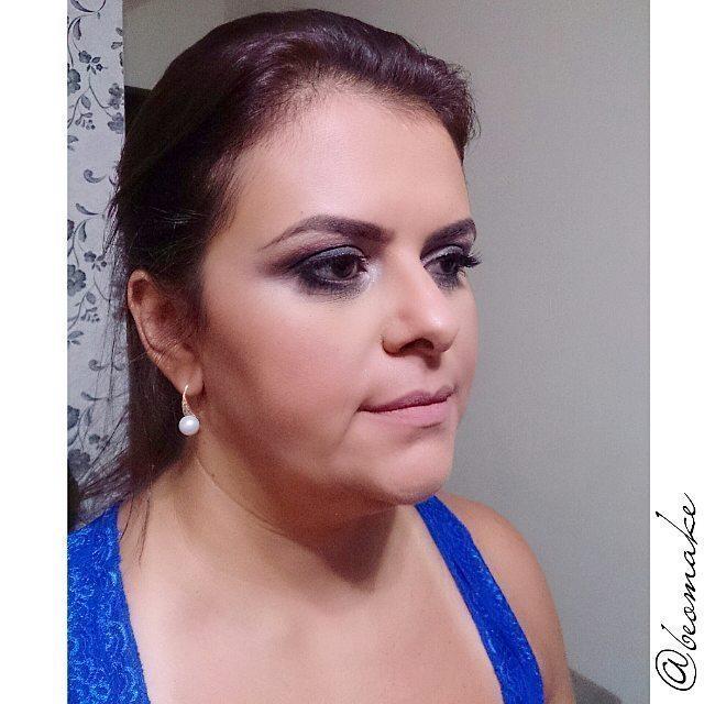 Make social para convidada de festa de 15 anos. #makeup #pelelinda  maquiador(a) designer de sobrancelhas