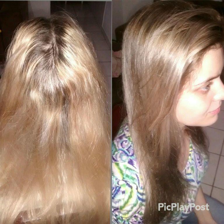 Correção de cor. cabeleireiro(a)