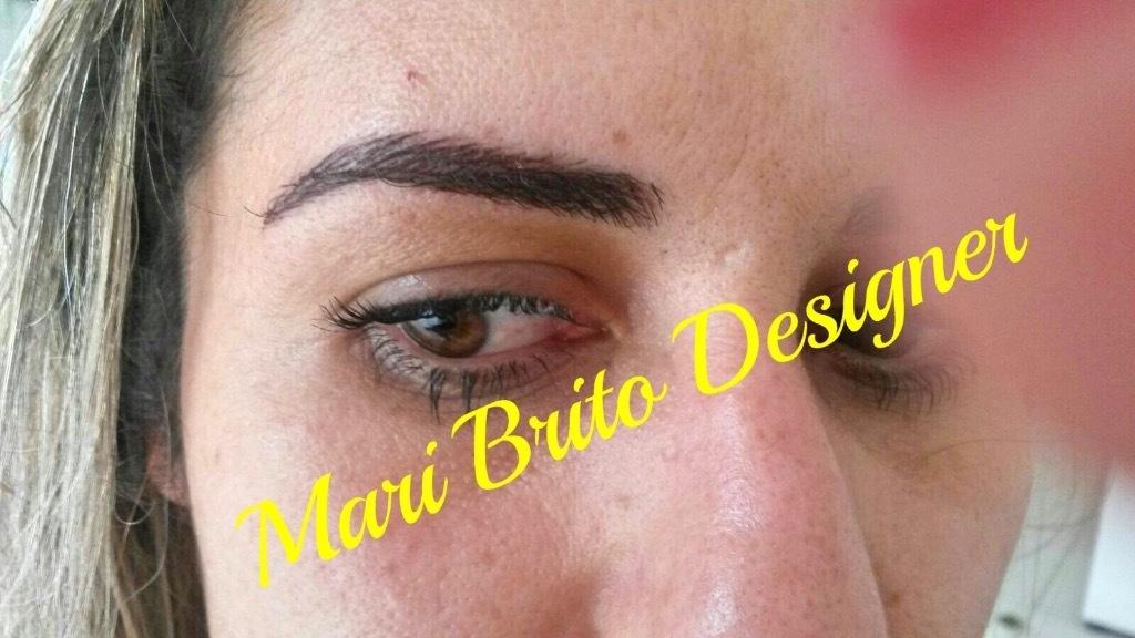 Microblading!!! designer de sobrancelhas manicure e pedicure