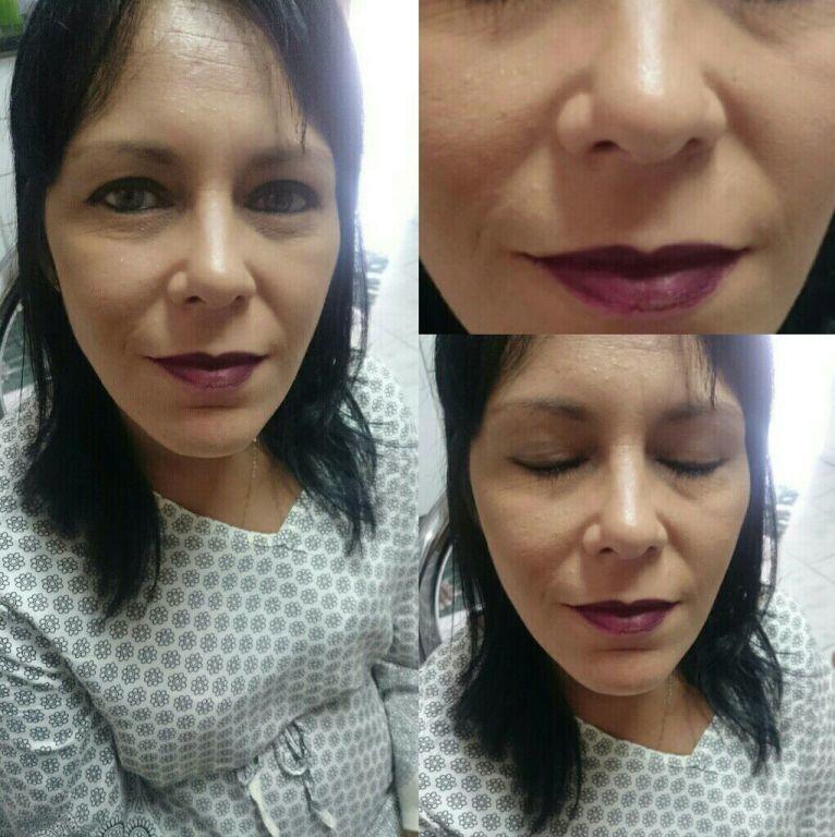 Maquiagem para modelo - desfile Sapatilhas Rosana Barros maquiagem maquiador(a) esteticista