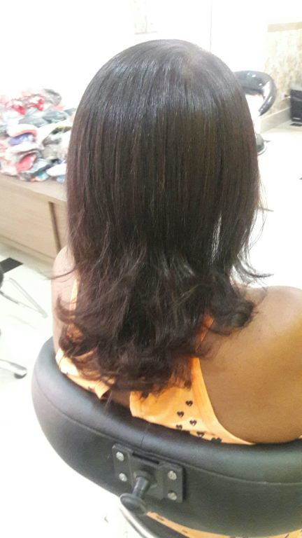 Corte  + escova modelada cabelo cabeleireiro(a)