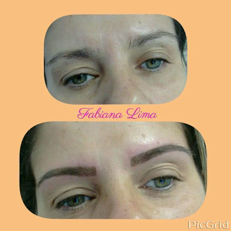 Micropigmentação 3 D outros micropigmentador(a) designer de sobrancelhas maquiador(a)