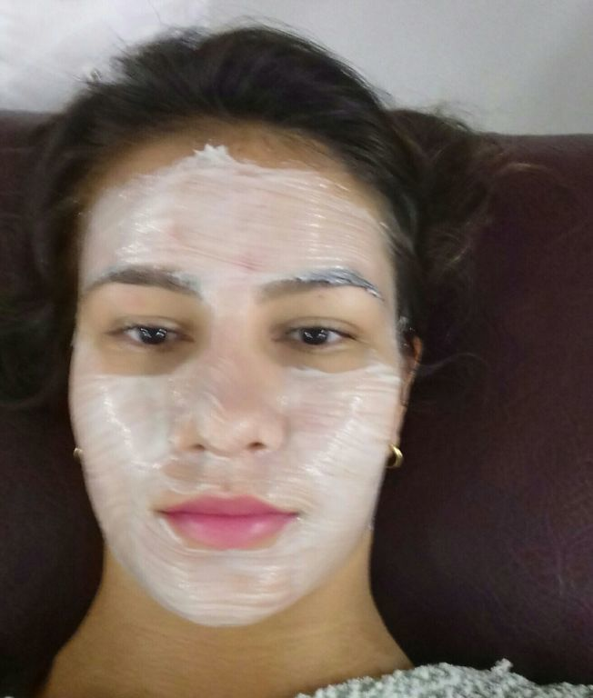 Máscara calmante! !! esteticista