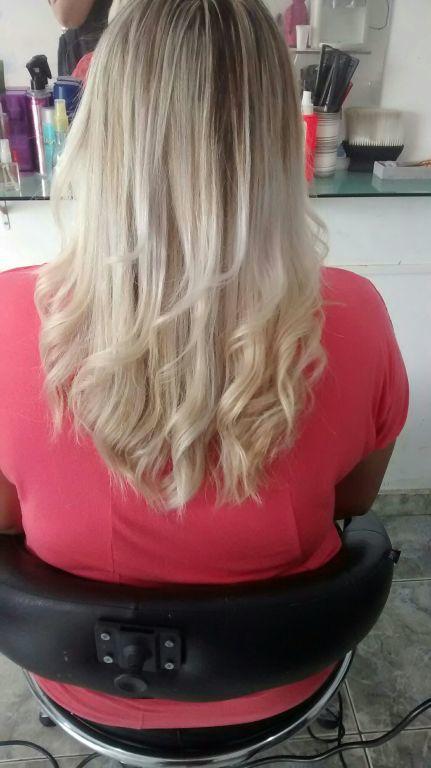 Mechas peroladas! cabelo cabeleireiro(a)