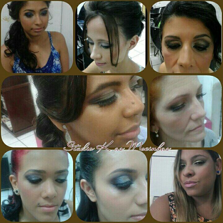 Maquiagens feitas por mim 😘 maquiagem cabeleireiro(a) maquiador(a) cabeleireiro(a)
