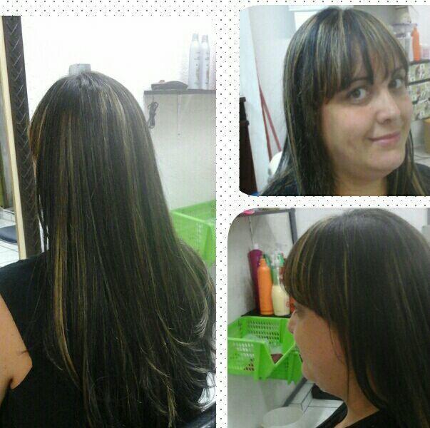 Morana iluminada cabelo cabeleireiro(a) maquiador(a) cabeleireiro(a)