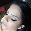 Técnica de #cutcrease #maquiagem #maquiadora #dourado