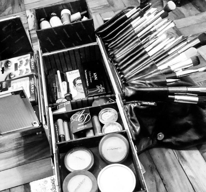 Minha maleta compacta #maleta #maquiagem #maquiadora maquiagem maquiador(a) designer de sobrancelhas