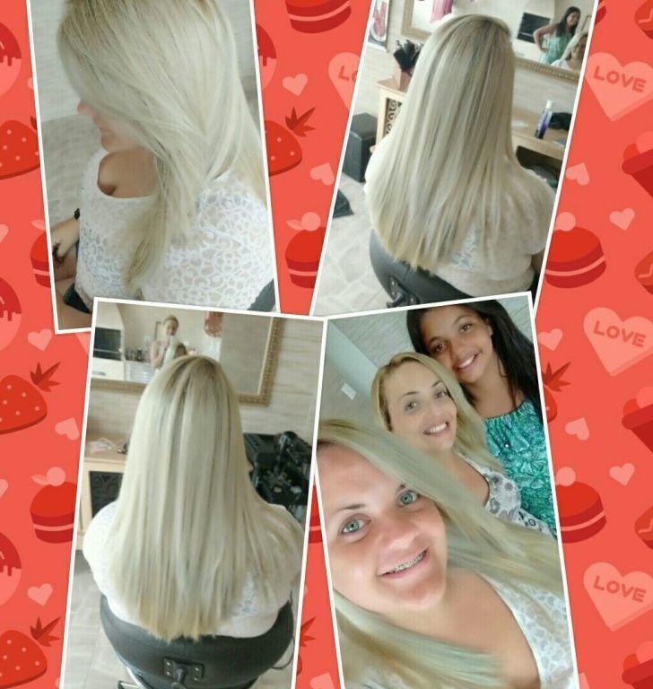Correcao de cor e Matização cabelo cabeleireiro(a) designer de sobrancelhas maquiador(a)