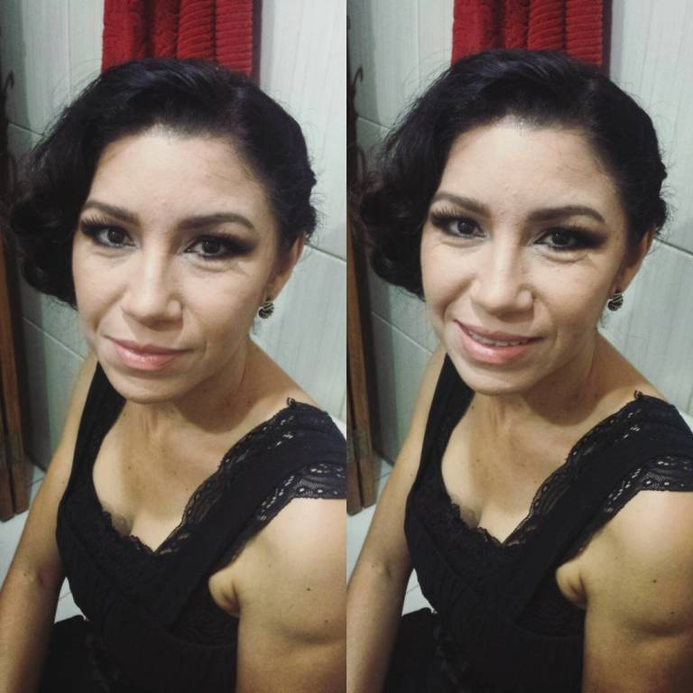 #maquiagem #esfumadodiagonal #olhopequeno #palpebragordinha #beauty #casamento #convidada #makeup maquiador(a)