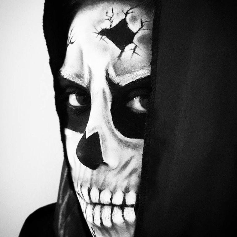 #halloween #diadasbruxas #horror #skullmakeup #maquiagemcaveira #caveira #facepaint #maquiagemartistica maquiador(a)