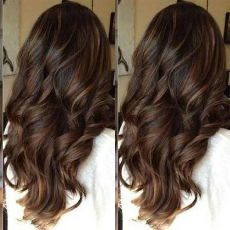 Chocolate Balayage Hair How To Chocolate Caramel Sombre
