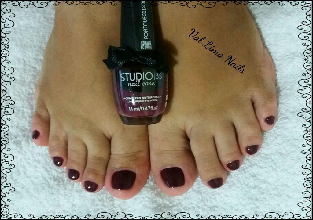 #beijinhonoombro unha manicure e pedicure