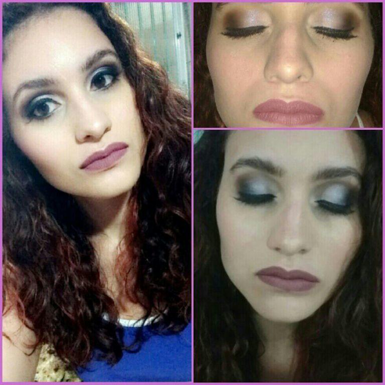 Make de sábado !Maquiando minha amiga diva .  #make #makeup maquiagem maquiador(a)