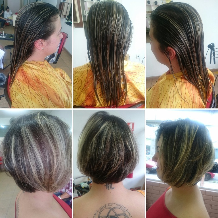 #transformation #transformacao #hair #cabelos #haircut cabelo cabeleireiro(a) stylist / visagista maquiador(a) designer de sobrancelhas