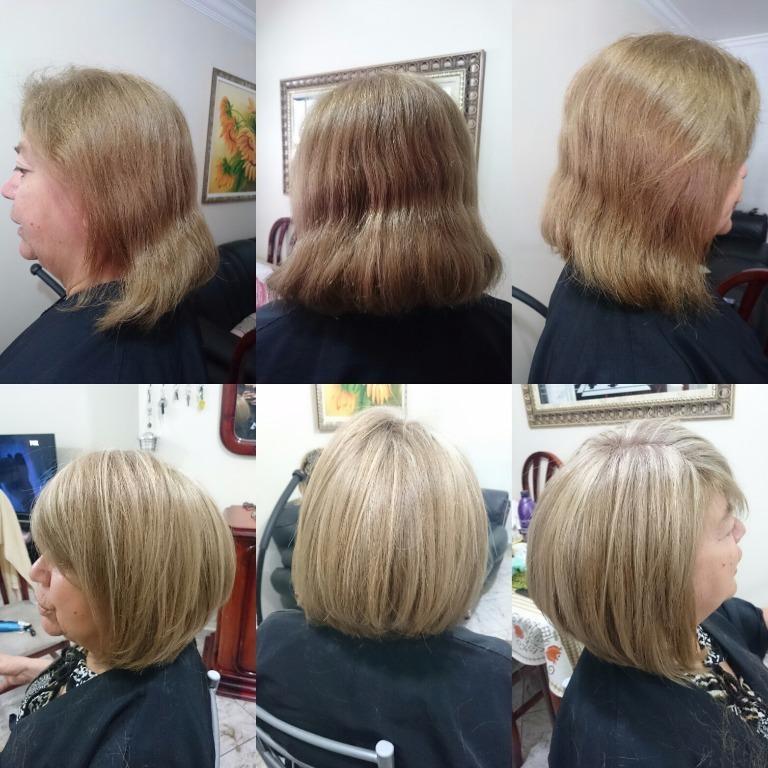 #luzes #ombrehair #ombrehighlights #haircut #chanel #blonde #hair #loirodossonhos #job #transformation #transformacao #cabelos #cabelosloiros  #loirossaudaveis #loirosdivos #loirosdourados #loirosamanteigados #loirosperolados #loirosplatinados cabelo cabeleireiro(a) stylist / visagista maquiador(a) designer de sobrancelhas