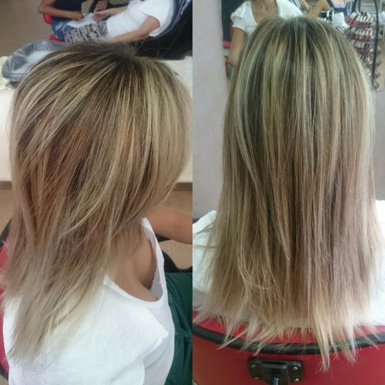 #morenailuminada #luzes #ombrehair #ombrehighlights #blonde #hair #loirodossonhos #job #transformation #transformacao #cabelos #cabelosloiros  #loirossaudaveis #loirosdivos #loirosdourados #loirosamanteigados #loirosperolados #loirosplatinados cabelo cabeleireiro(a) maquiador(a) designer de sobrancelhas