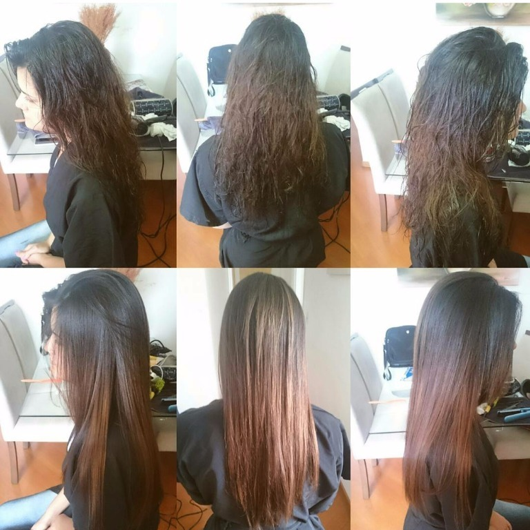 #job #transformation #progressiva #antesedepois #transformacao #hair #cabelos cabelo cabeleireiro(a) stylist / visagista maquiador(a) designer de sobrancelhas