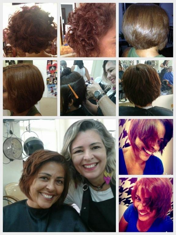 Transformação total. Progressiva  sem formol. Corte. cabeleireiro(a) maquiador(a)