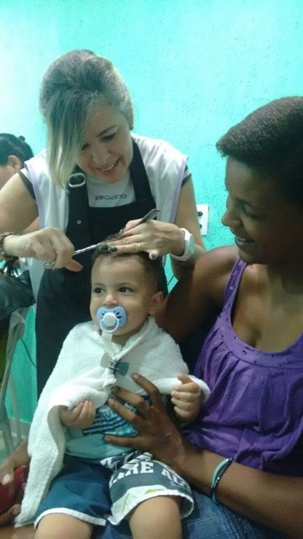 Corte Infantil Maquina + Tesoura cabeleireiro(a) maquiador(a)