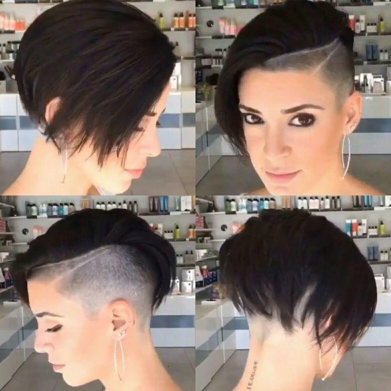 Corte Undercut inspiração cabelo cabeleireiro(a)