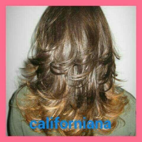 Californiana + corte cabelo cabeleireiro(a)