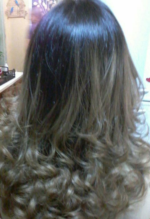 Cabelos castanho escuro,descoloração com,alfa para,tonalizando com ,5.37 cabelo cabeleireiro(a)