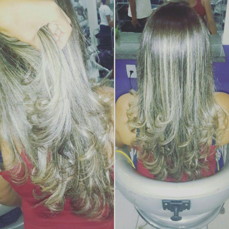 Corte + escova  @janncoiffeur cabelo auxiliar cabeleireiro(a) cabeleireiro(a)