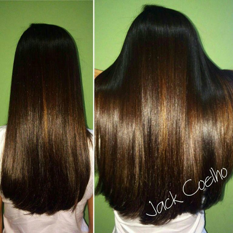 Tratamento capilar + progressiva cabelo cabeleireiro(a) esteticista maquiador(a) assistente esteticista assistente maquiador(a)