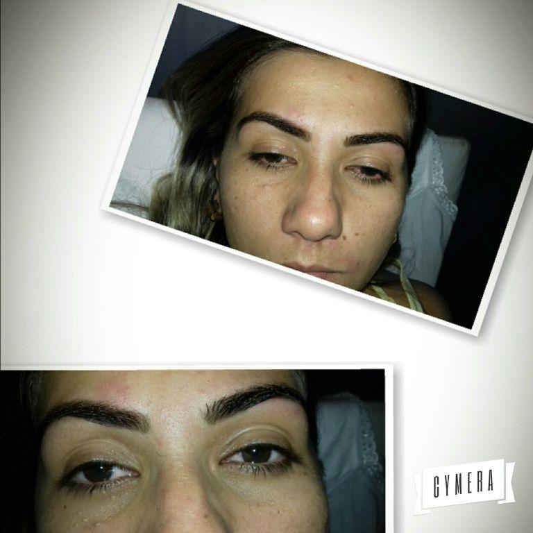 designer de sobrancelhas depilador(a) maquiador(a)