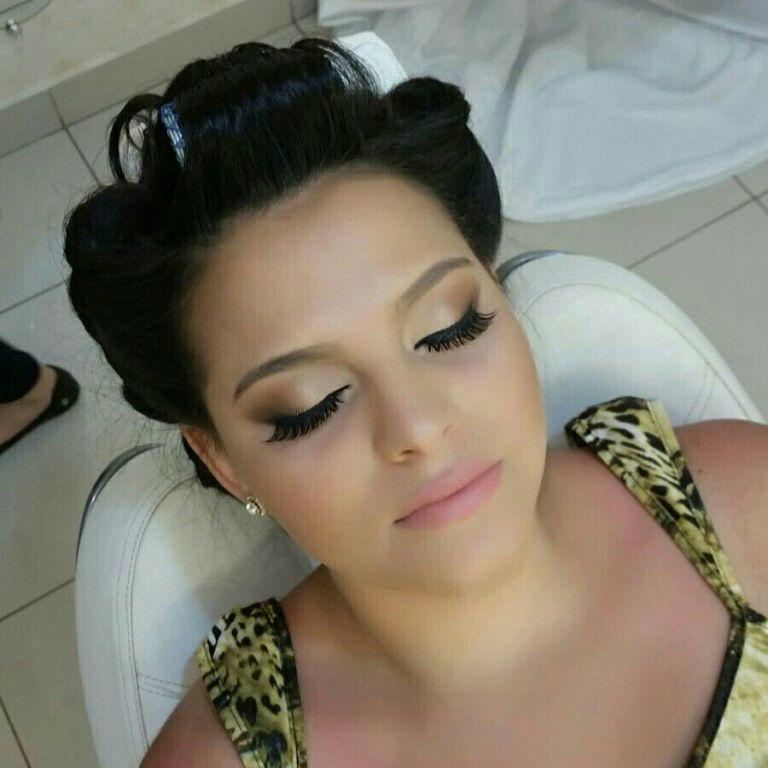 Make. maquiagem cabeleireiro(a) maquiador(a)