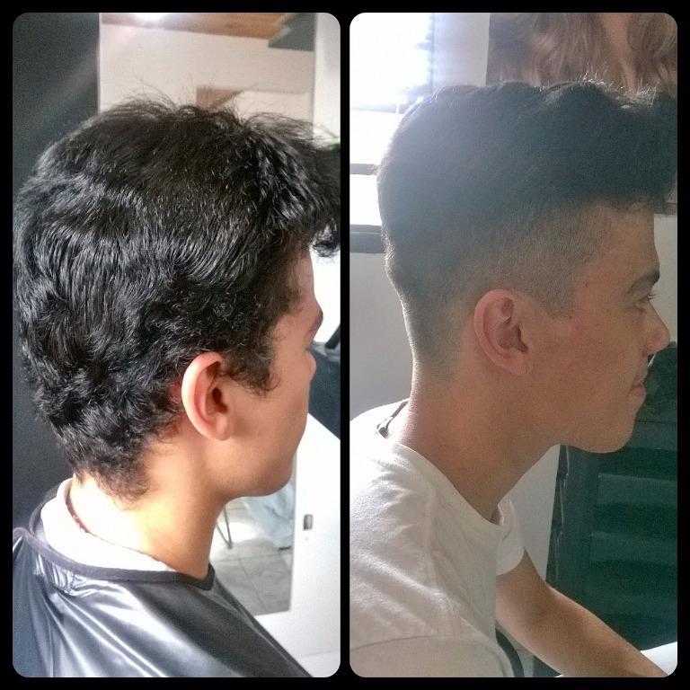 Corte Degrade cabeleireiro(a)