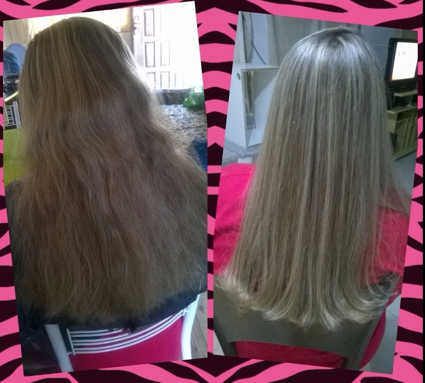 Mechas Platinadas cabeleireiro(a)