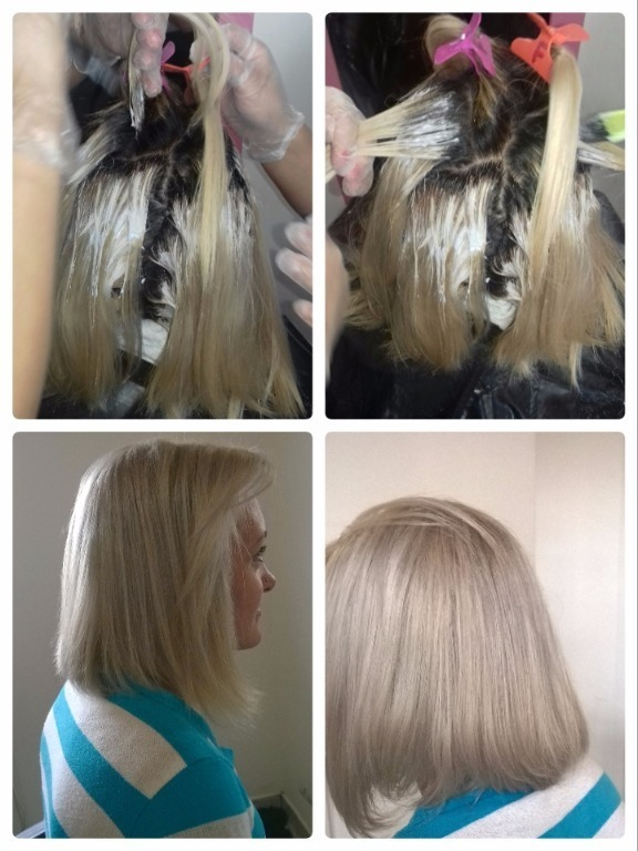 Descoloração  Global cabeleireiro(a)